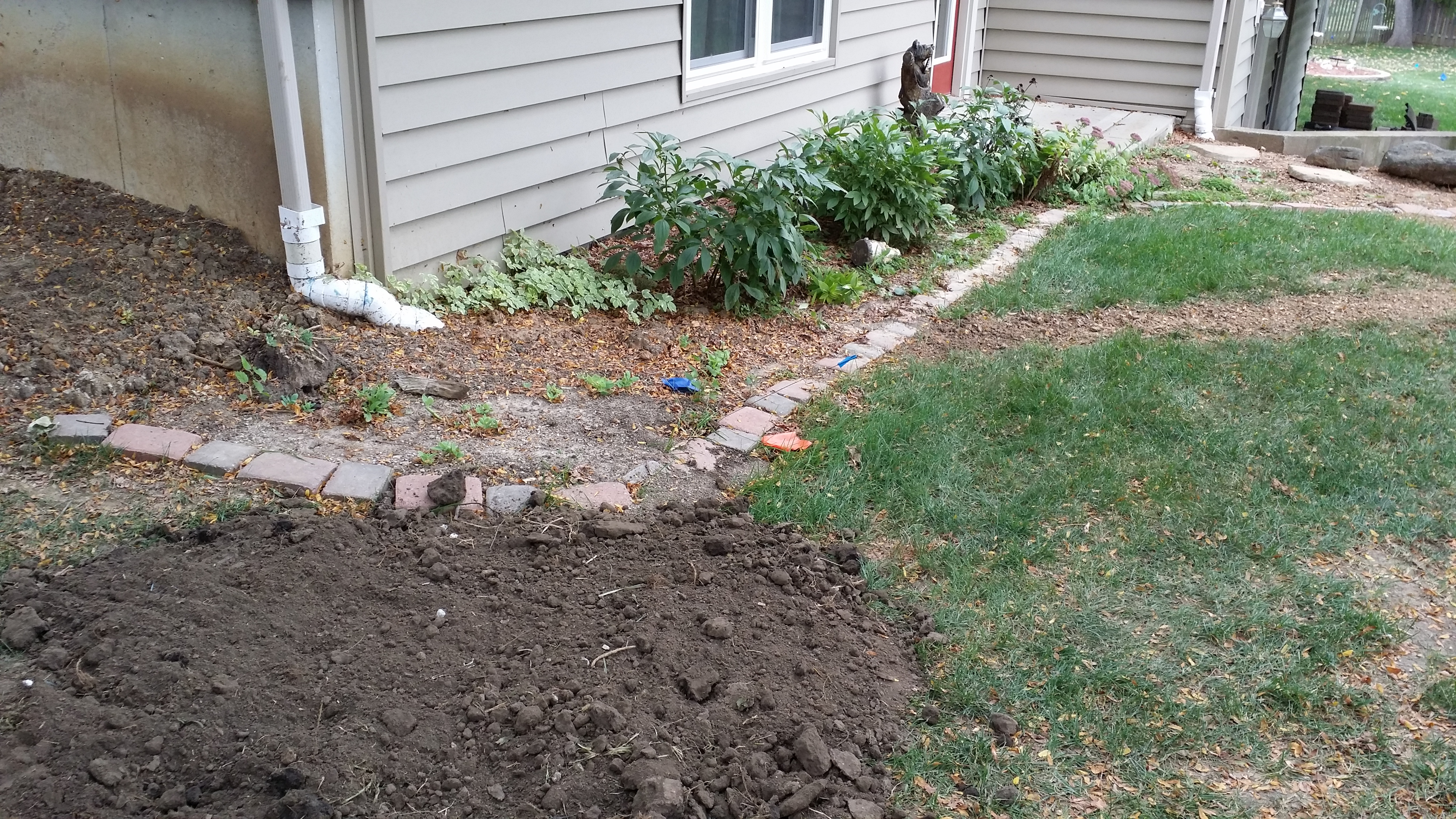 underground gutter drainage solutions buddy rodgers and son